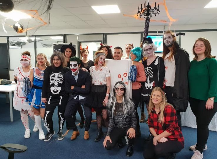 Equipe Lesa Fete Halloween
