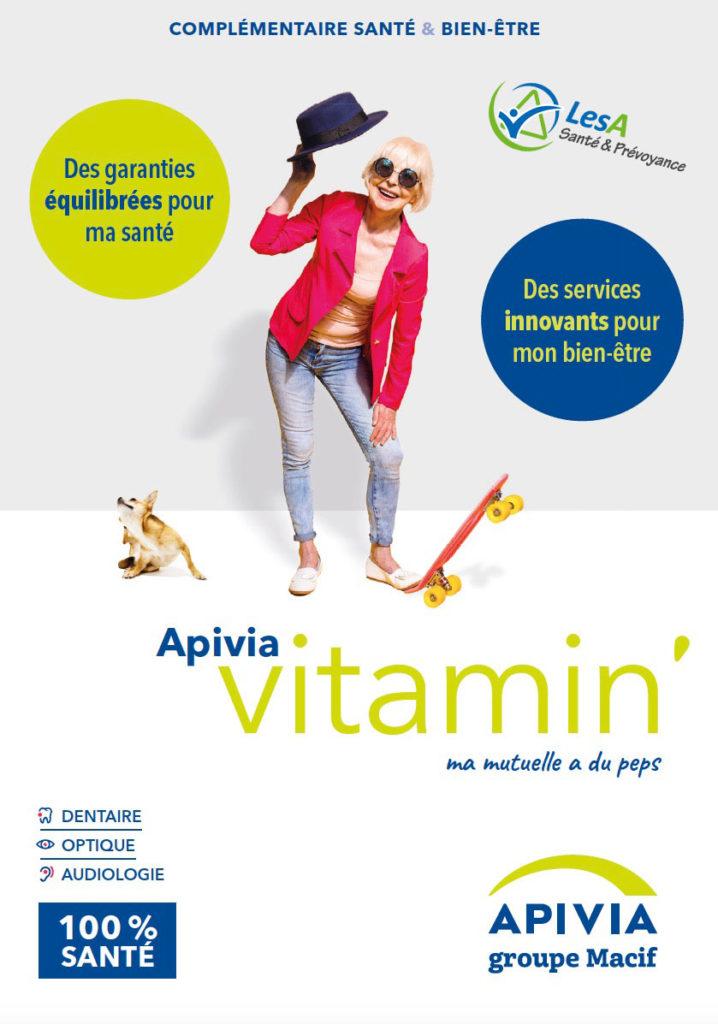 Plaquette Apivia Vitamin