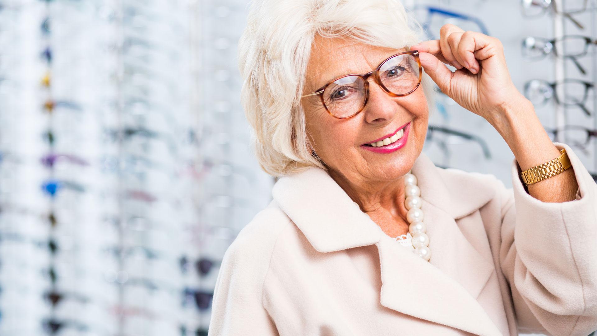 Une bonne assurance santé vous permet de choisir vos lunettes en toute sérénité.
